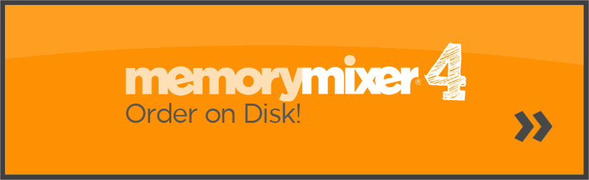 Order MemoryMixer Digital Scrapbooking Software on diskt