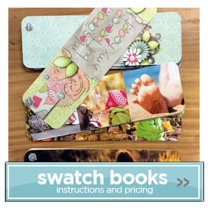 Create Fast Fun Photo Swatch Books to share with everyone